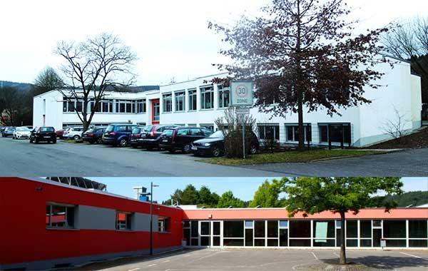 Brandschutz Förderschule Rossel